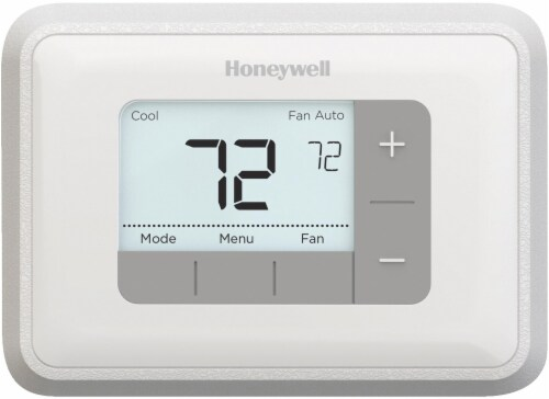 Honeywell 5-2 Day Programmable 2H/2C Thermostat With Backlight - White Perspective: front
