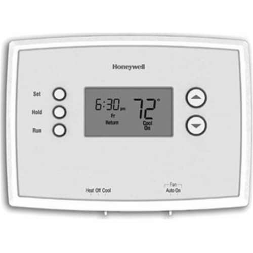 Honeywell Home 7 Day Programmable Thermostat Perspective: front