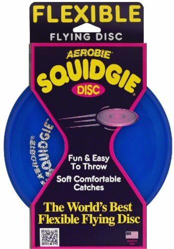 Aerobie Squidgie Flying Disc Flexible Perspective: front
