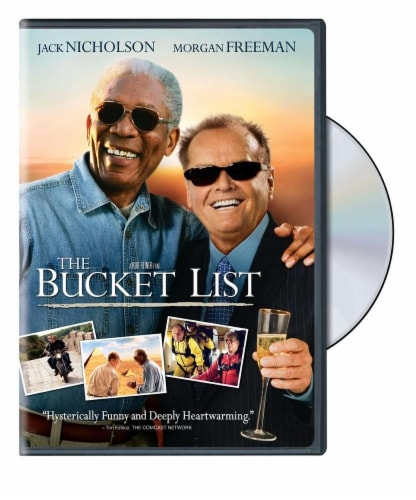 The Bucket List DVD Perspective: front