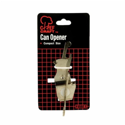 Chef Craft 21118 Butter Fly Can Opener  Chrome  3.75 in. - pack of 3 Perspective: front
