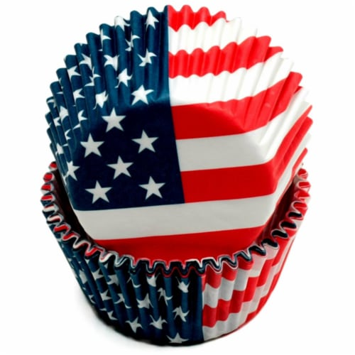 DDI 2329147 Chef Craft USA Flag Baking Cups - 50 Count Case of 108 Perspective: front