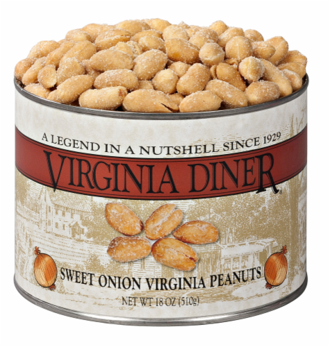 Virginia Diner Sweet Onion Peanuts Perspective: front