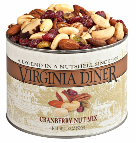 Virginia Cranberry Nut Mix Perspective: front