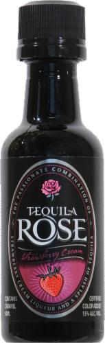 Tequila Rose Strawberry Cream Liqueur Perspective: front