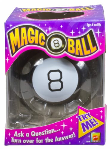 Mattel Magic 8 Ball Perspective: front