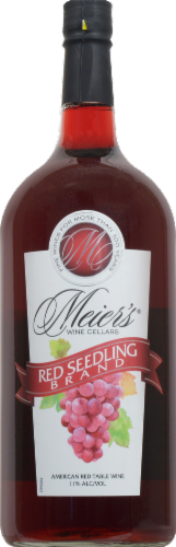 Meier's Red Seedling Wine Perspective: front