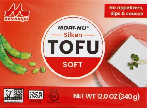 Mori-Nu Silken Soft Tofu Perspective: front