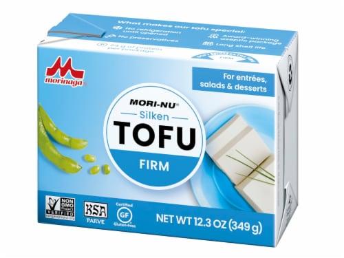 Mori-Nu Silken Firm Tofu Perspective: front