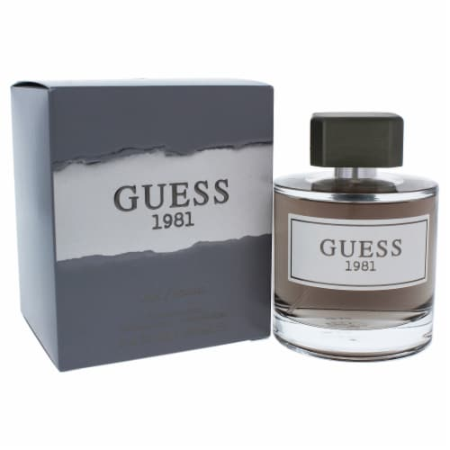Guess 1981 by Guess for Men - 3.4 oz EDT Spray Perspective: front