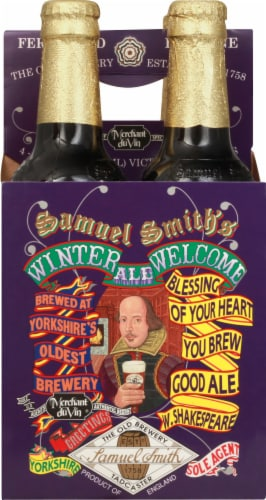 Samuel Smith's Winter Welcome Ale Perspective: front