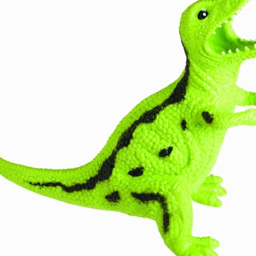 Toysmith TS1754 Dinosaur Squishmals, 5-8 in. Perspective: front