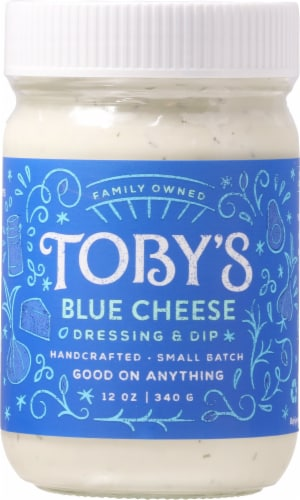 Toby's Blue Cheese Dressing & Dip Perspective: front