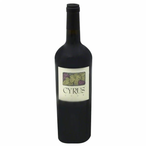 Alexander Valley Vineyards Cyrus Red Blend Perspective: front