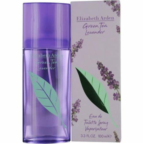Green Tea Lavender by Elizabeth Arden for Women - 3.3 oz EDT Spray Perspective: front