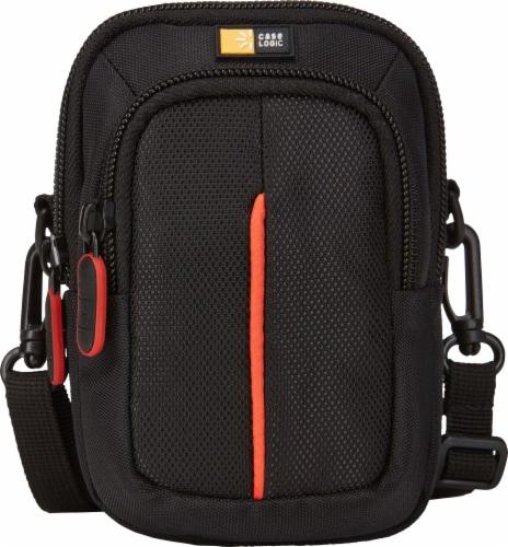 Case Logic Camera Case - Black/Orange Perspective: front
