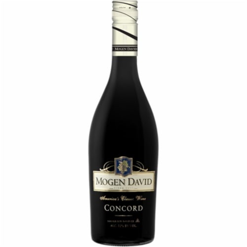 Mogen David Concord Red Wine Perspective: front