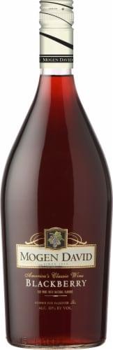 Mogen David Blackberry Wine Perspective: front