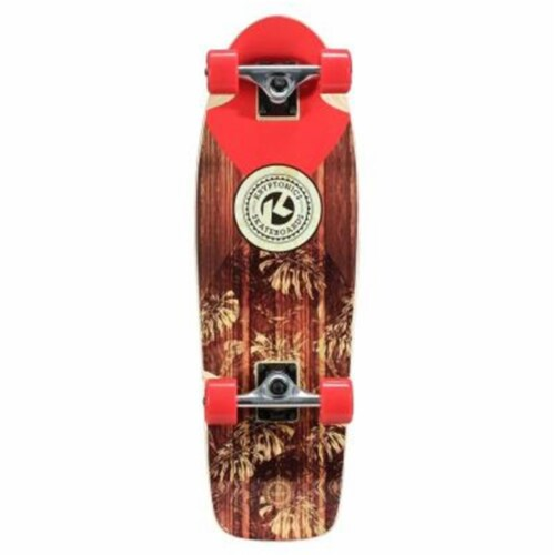 Bravo Sports 163683 28 in. Solid-In Lay Cruiser Complete Skateboard Perspective: front