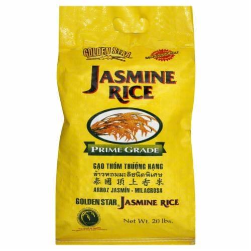 Golden Star Jasmine Rice Perspective: front