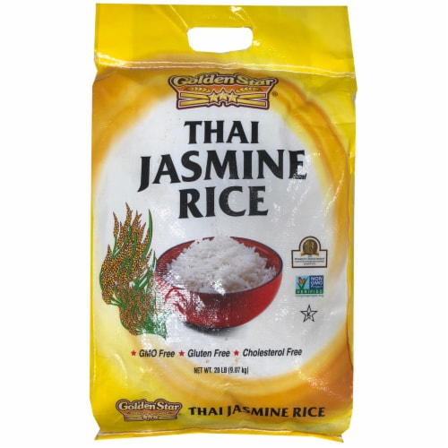 Golden Star Thai Jasmine Rice Perspective: front