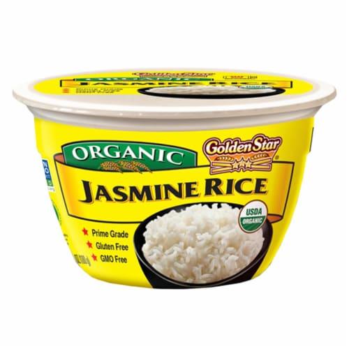 Golden Star Organic Jasmine Rice Perspective: front