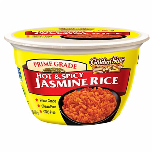 Golden Star Hot And Spicy Jasmine Rice Perspective: front