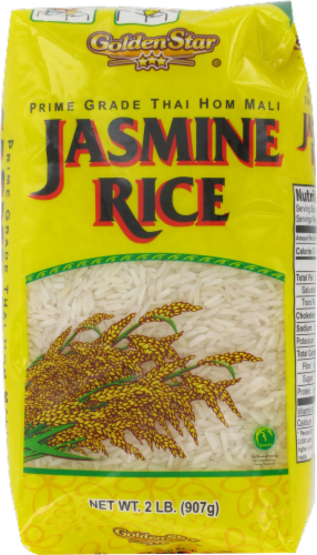 Golden Star Jasmine Rice Perspective: front
