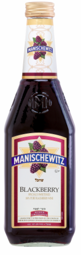 Manischewitz Blackberry Wine Perspective: front