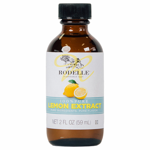 Rodelle Pure Lemon Extract Perspective: front