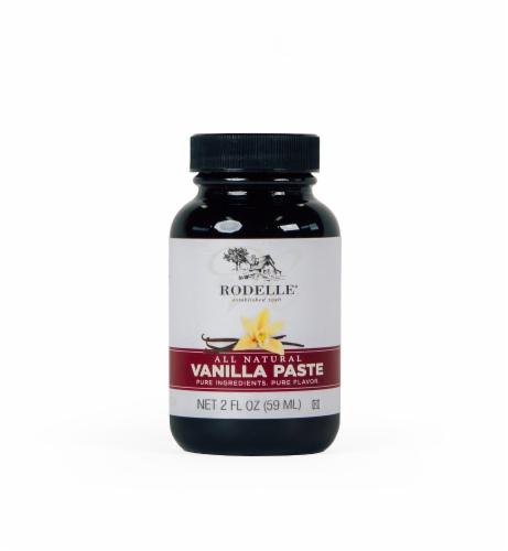 Rodelle All Natural Vanilla Paste Perspective: front
