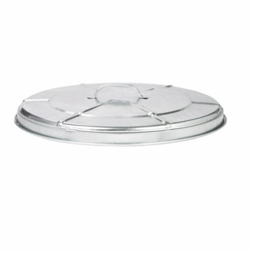 Behrens Galvanized Steel Garbage Can Lid - Case Of: 1; Perspective: front