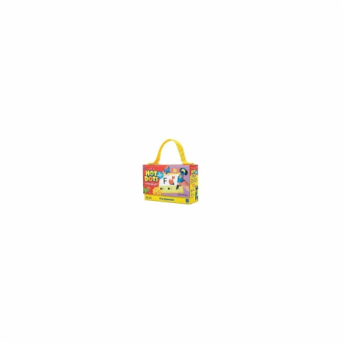 Educational Insights EI-2351 Hot Dots Jr Cards The Alphabet Perspective: front