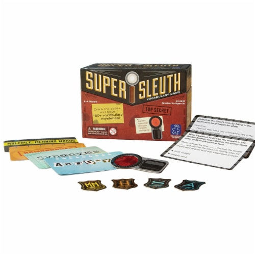 Educational Insights Super Sleuth Vocabulary Game Perspective: front