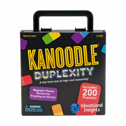 Educational Insights Kanoodle Duplexity Puzzles Perspective: front