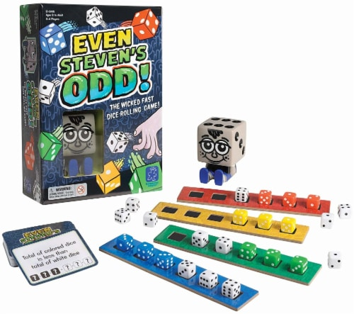 Educational Insights Even Steven's Odd! Game Perspective: front