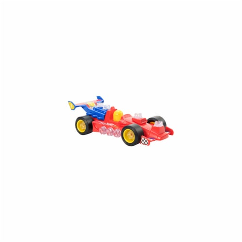 Educational Insights Design & Drill Power Play Vehicles Race Car Perspective: front