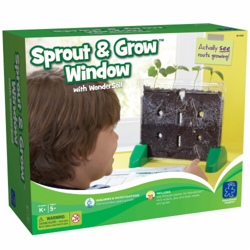 Educational Insights Sprout & Grow Window Perspective: front