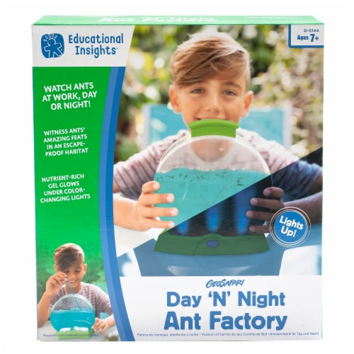 Educational Insights GeoSafari® Day 'N' Night Ant Factory Perspective: front