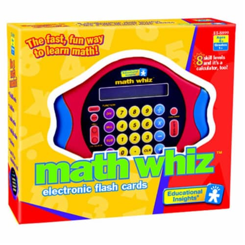 EDUCATIONAL INSIGHTS Math Whiz Electronic Game EI-8899 Perspective: front