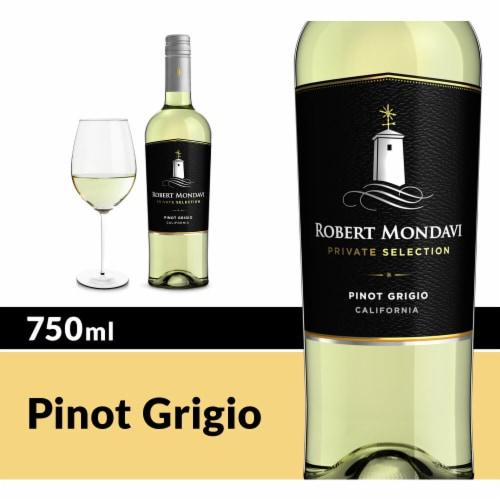 Robert Mondavi Private Selection Pinot Grigio White Wine Perspective: front