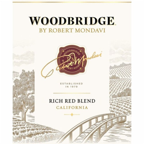 Woodbridge by Robert Mondavi Cabernet Sauvignon Merlot Red Wine Perspective: front