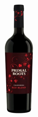 Primal Roots Red Blend WIne Perspective: front