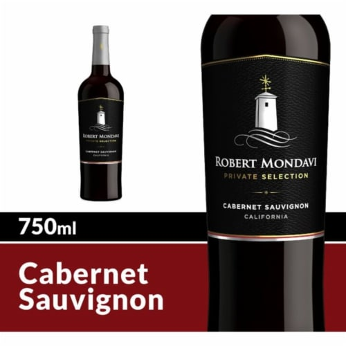 Robert Mondavi Private Selection Cabernet Sauvignon Red Wine Perspective: front