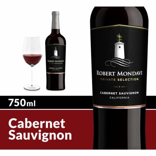 Robert Mondavi Private Selection Cabernet Sauvignon Red Wine Perspective: front