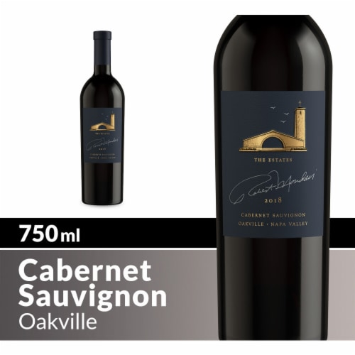 Robert Mondavi Winery Oakville Cabernet Sauvignon Red Wine Perspective: front