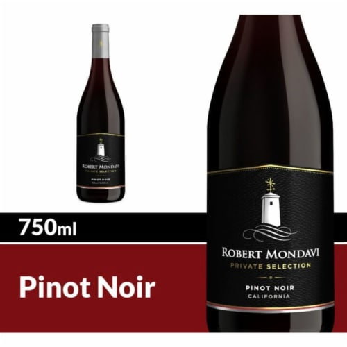Robert Mondavi Private Selection Pinot Noir Red Wine Perspective: front