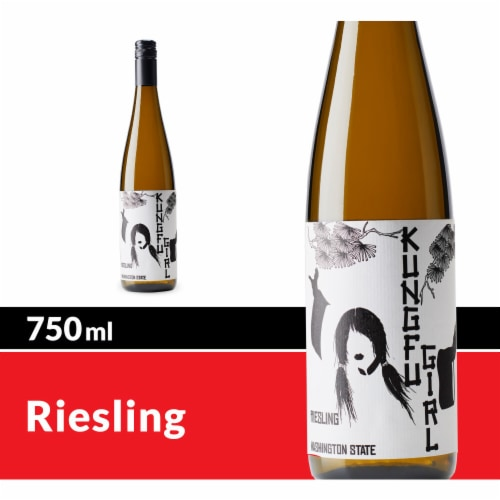 Kung Fu Girl Riesling White Wine Perspective: front