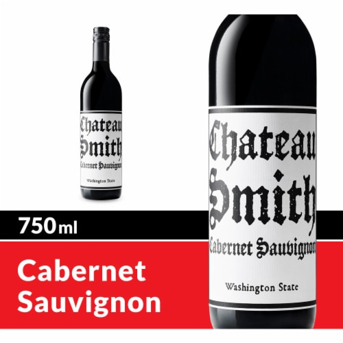Charles Smith Wines Chateau Smith Cabernet Sauvignon Red Wine Perspective: front