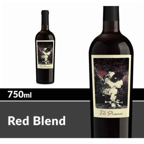 The Prisoner Wine Co. Red Blend Perspective: front